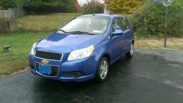 GEICO Insurance Rate Quote For 2009 CHEVROLET AVEO LT 2WD SEDAN 4 DOOR - 1.6L L4  MPI DOHC 16V NM4 $26.79 Per Month 9413631