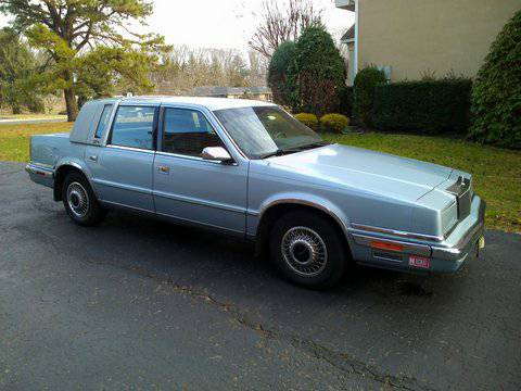 State Farm Insurance Rate Quote For 1991 CHRYSLER NEW YORKER SALON 2WD SEDAN 4 DOOR - 3.3L V6  MPI OHV      NM $87.15 Per Month