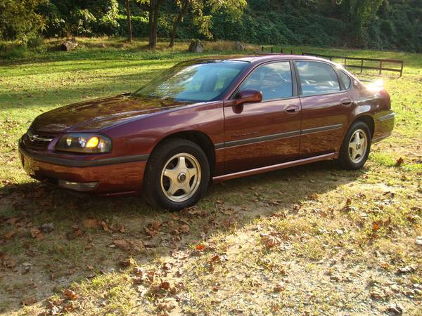 State Farm Insurance Rate Quote For 2001 CHEVROLET IMPALA SEDAN 4 DOOR $217.96 Per Month 1114103263