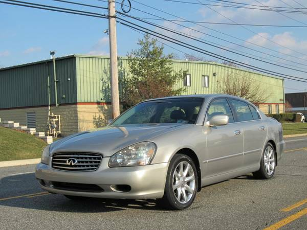 GEICO Insurance Rate Quote For 2003 INFINITI Q45 2WD SEDAN 4 DOOR - 4.5L V8  PFI DOHC 32V NP $198.77 Per Month
