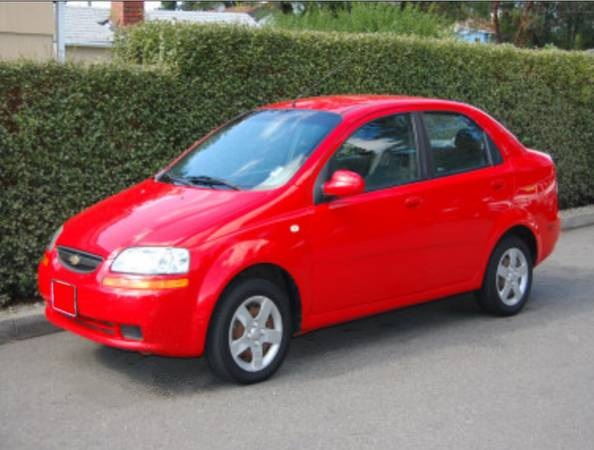GEICO Rate Quote For 2008 CHEVROLET AVEO LT 2WD SEDAN 5 DOOR - 1.6L L4  MPI          NM $93.73 Per Month