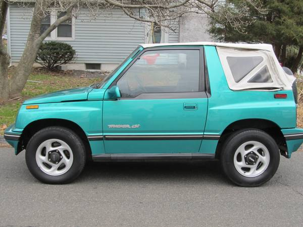 Progressive Rate Quote For 1995 Geo Tracker 2D Convertible $159.68 Per Month 9413917