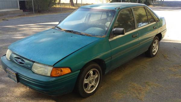State Farm Insurance Rate Quote For 1993 FORD ESCORT HATCHBACK 2 DOOR $45.76 Per Month
