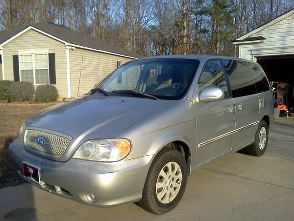 USAA Rate Quote For 2005 KIA SEDONA EX LX 2WD SPORT VAN - 3.5L V6  PFI DOHC 16V NP4 $223.82 Per Month
