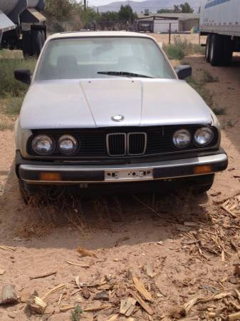 AAA Insurance Rate Quote For 1985 BMW 325E 2WD SEDAN 2 DOOR - 2.7L L6  FI  SOHC     NF $184.64 Per Month