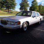 AAA Insurance Rate Quote For 1992 Lincoln Town Car 4D Sedan $53.76 Per Month 9418232