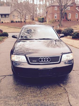 GEICO Insurance Rate Quote For 2001 AUDI A6 2.8 QUATTRO AWD 2WD SEDAN 4 DOOR - 2.8L V6  FI  DOHC 30V NF $166.03 Per Month