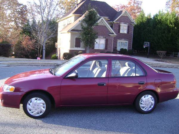 GEICO Insurance Rate Quote For 2001 TOYOTA COROLLA CE LE S 2WD SEDAN 4 DOOR - 1.8L L4  FI           NF $39.07 Per Month