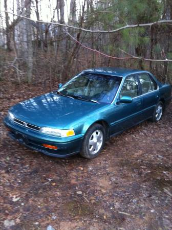 State Farm Insurance Rate Quote For 1993 HONDA ACCORD DX 2WD SEDAN 4 DOOR - 2.2L L4  PFI SOHC 16V NP4 $139.41 Per Month
