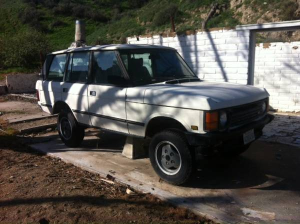 Compare American Standard Insurance Policy Quote For 1987 LAND ROVER RANGE ROVER 4WD WAGON 4 DOOR - 3.5L V8  FI           NF $180.09 Per Month