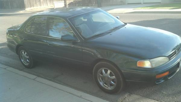 Compare Farmers Insurance Policy Quote For 1996 TOYOTA CAMRY LE 2WD SEDAN 4 DOOR - 3.0L V6  FI       24V NF4 $208.54 Per Month