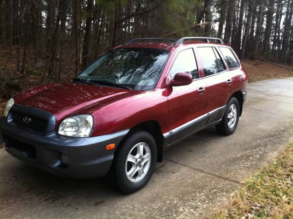 Compare Farmers Insurance Policy Quote For 2003 HYUNDAI SANTA FE 2WD WAGON 4 DOOR - 2.7L V6  MPI DOHC 24V NM4 $74.48 Per Month