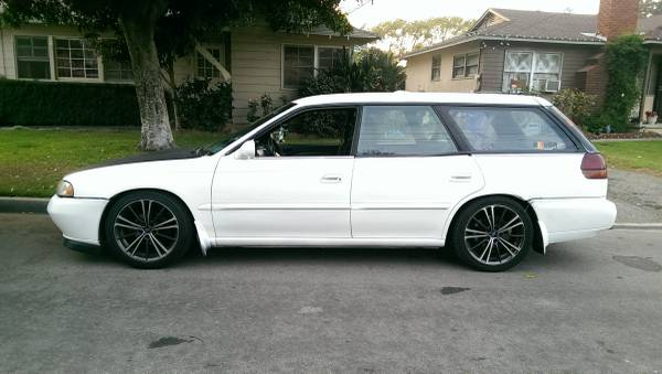 1996 Subaru Legacy 5 Speed For