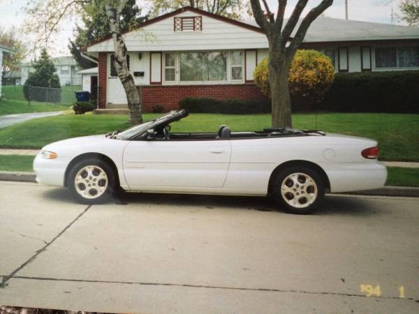 Insurance Quote For 2000 CHRYSLER SEBRING JXI SEBRING-CONVERTIBLE $180.63 Per Month