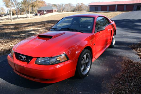 Insurance Quote For 2001 FORD MUSTANG GT 2WD COUPE - 4.6L V8  FI  SOHC 16V NF2 $91.96 Per Month