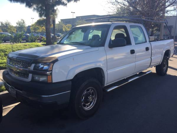 Insurance Quote For 2004 CHEVROLET C2500 SILVERADO 2WD CREW PICKUP - 6.0L V8  MPI          NM $105.48 Per Month