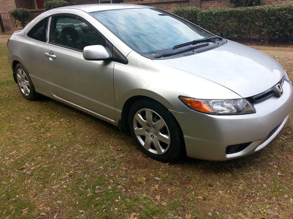 Insurance Quote For 2007 HONDA CIVIC DX 2WD SEDAN 4 DOOR - 1.8L L4  MPI SOHC 16V NM4 $109.09 Per Month