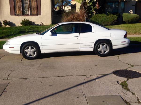 Insurance Quote For 1997 CHEVROLET MONTE CARLO LS 2WD COUPE - 3.1L V6  MPI OHV  12V NM2 $123.85 Per Month