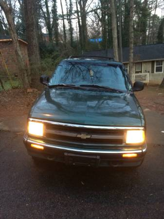 Insurance Quote For 1997 Chevrolet Blazer 2D Utility $139.08 Per Month