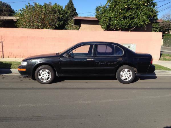 Insurance Quote For 1997 NISSAN MAXIMA GLE GXE SE 2WD SEDAN 4 DOOR - 3.0L V6  FI  DOHC 24V NF $31.66 Per Month