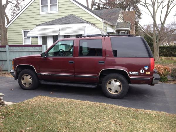 Insurance Quote For 1999 CHEVROLET TAHOE K1500 4WD WAGON 4 DOOR - 5.7L V8  MPI OHV      NM2 $216.84 Per Month