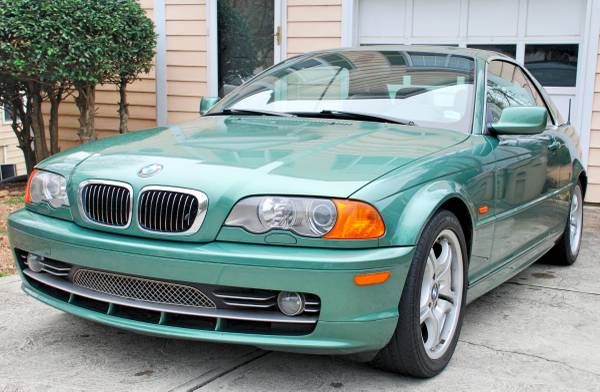 Insurance Quote For 2001 BMW 330CI 2WD CONVERTIBLE - 3.0L L6  FI  DOHC 24V NF4 $214.55 Per Month