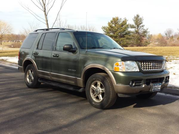 Insurance Quote For 2002 FORD EXPLORER EDDIE BAUER 4WD WAGON 4 DOOR - 4.6L V8  FI  SOHC 16V NF2 $131.41 Per Month