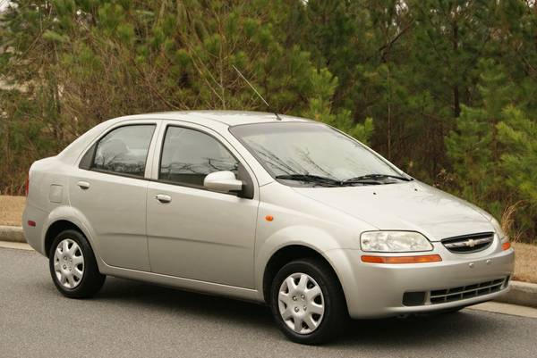 Insurance Quote For 2004 CHEVROLET AVEO 2WD SEDAN 5 DOOR - 1.6L L4  FI  DOHC     NF $31.49 Per Month