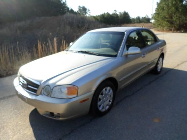 Insurance Quote For 2004 KIA OPTIMA LX EX 2WD SEDAN 4 DOOR - 2.7L V6  PFI DOHC 24V NP $166.48 Per Month