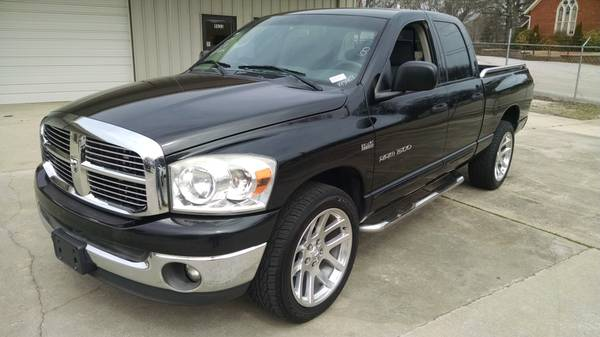 Insurance Quote For 2007 DODGE RAM 1500 QUAD ST RAM TRUCK-CREW PICKUP $131.6 Per Month