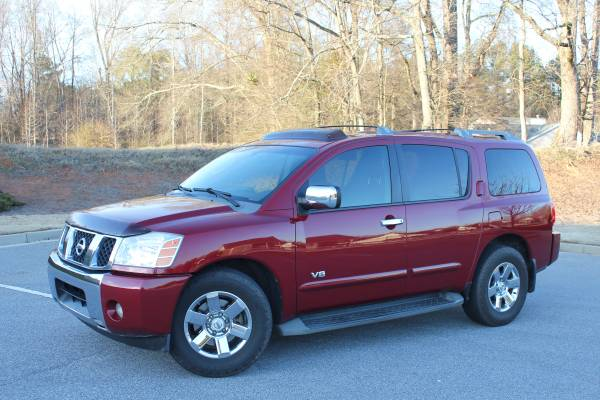 Insurance Quote For 2007 NISSAN ARMADA 2WD WAGON 4 DOOR - 5.6L V8  SFI DOHC 32V NS4 $39.86 Per Month