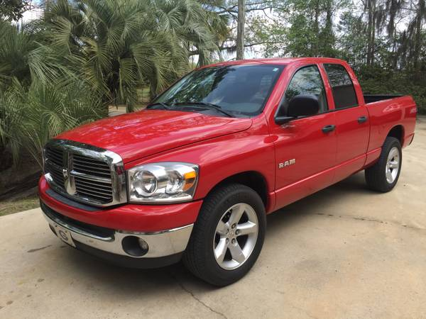 Insurance Quote For 2008 DODGE RAM 1500 QUAD ST SLT 2WD CREW PICKUP - 4.7L V8 SFI OHV NS2 $186.19 Per Month