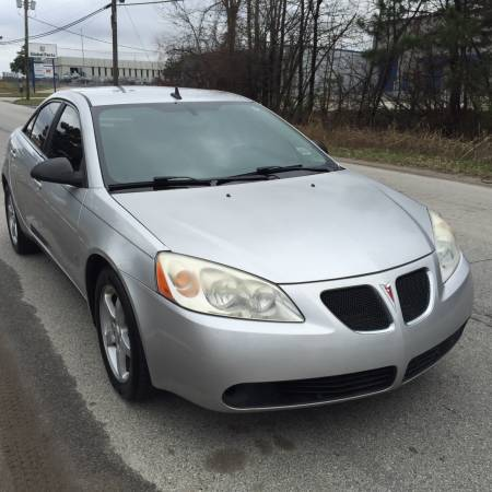 Insurance Quote For 2009 PONTIAC G6 2WD SEDAN 4 DOOR - 2.4L L4  MPI DOHC 16V NM4 $46.82 Per Month