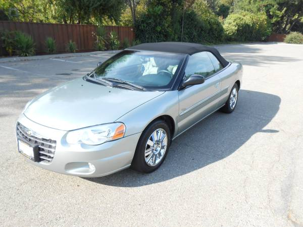 1C3EL65R95N607200 Insurance Rate Quote for 2005 Chrysler Sebring Limited Convertible $40.83 per Month
