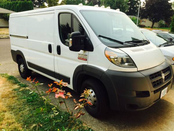 3C6TRVAGXFE502999 Insurance Rate Quote for 2015 Ram ProMaster 1500 136 Cargo Van $185.65 per Month