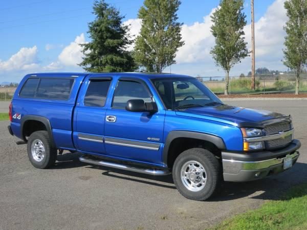 Auto Insurance Quote for 2004 Chevrolet Silverado 2500 4 Dr LS 4WD Extended Cab SB in Burlington, WA $112.50 per Month