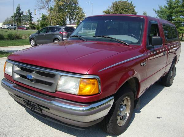 Auto Insurance Rate Quote for 1996 Ford Ranger $40 per Month