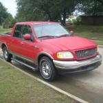 Auto Insurance Rate Quote for 2001 Ford F-150 $75 per Month