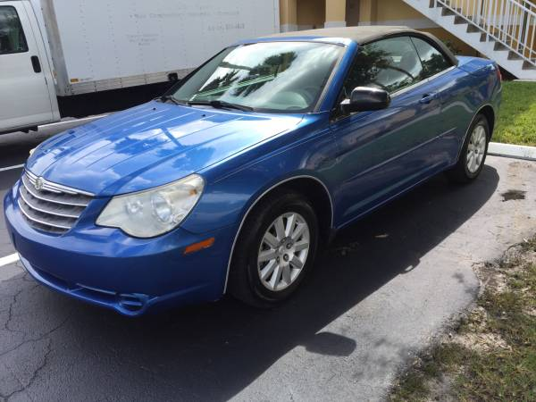 Auto Insurance Rate Quote for 2008 Chrysler Sebring $67 per Month