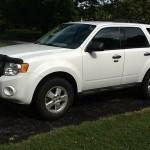Auto Insurance Rate Quote for 2009 Ford Escape $92 per Month