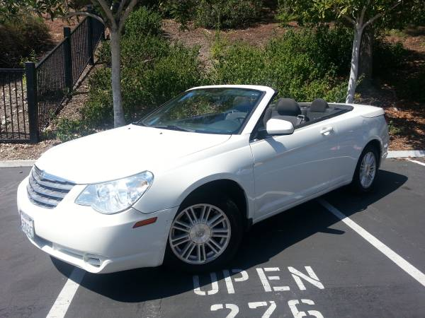 Insurance Rate Quote For 2009 Chrysler Sebring Touring Convertible $57.62 Per Month