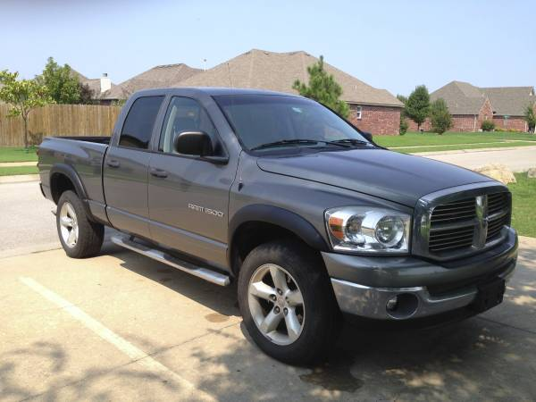 Insurance Rate Quote for 2007 Dodge Ram 1500 SLT Quad Cab 4WD $98.18 per Month 1D7HU18P87S225401