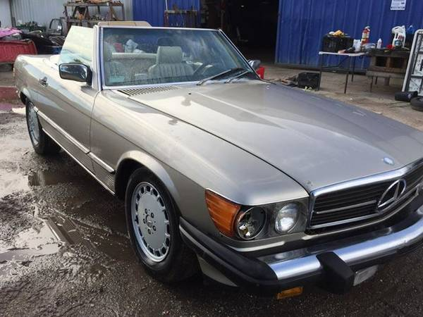 Insurance Rate for 1987 Mercedes-Benz 560 SL - Average Quote $59 per Month