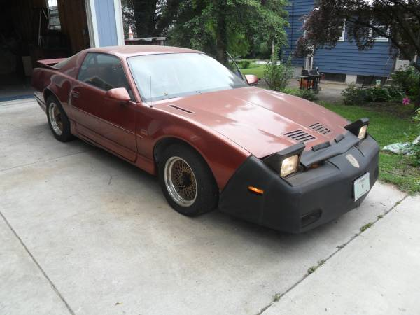 Insurance Rate for 1987 Pontiac Firebird Trans AM - Average Quote $57 per Month