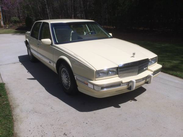 Insurance Rate for 1991 Cadillac Seville Sedan - Average Quote $107 per Month