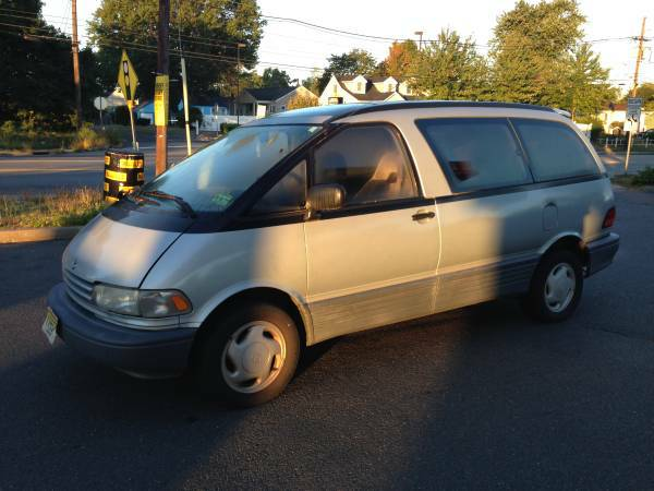 Insurance Rate for 1993 Toyota Previa LE (auto) - Average Quote $144 per Month