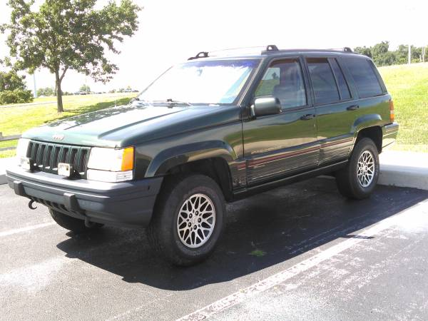 Insurance Rate for 1995 Jeep Grand Cherokee Limited 4WD - Average Quote $133 per Month