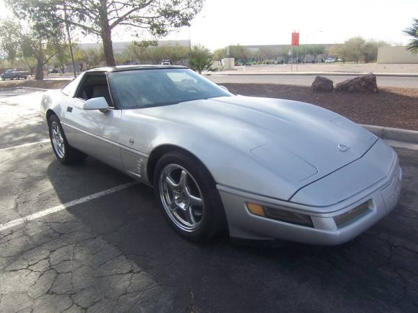 Insurance Rate for 1996 Chevrolet Corvette Coupe - Average Quote $90 per Month