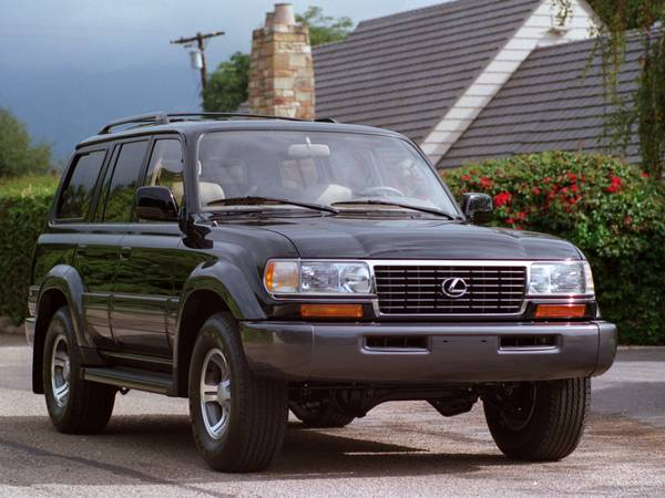 Insurance Rate for 1996 Lexus LX 450 Base - Average Quote $91 per Month