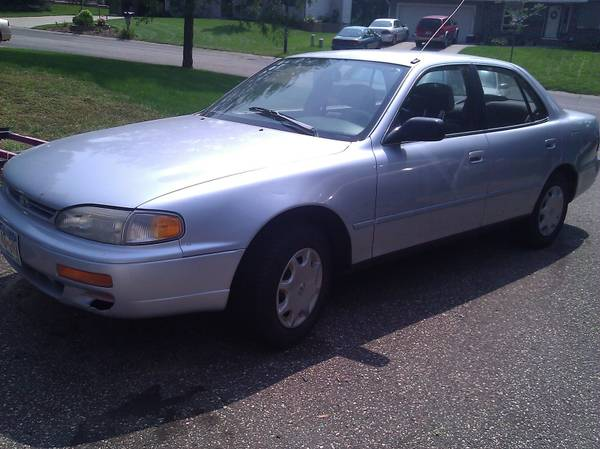Insurance Rate for 1996 Toyota Camry - Average Quote $31 per Month